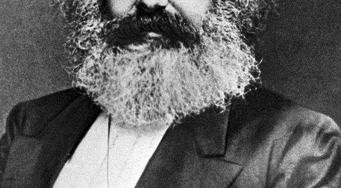 44398 12/01/1873 Karl Marx, founder of scientific communism (1818-1883). *** Local Caption *** 01917496